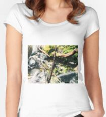 Nature Close-up Women's Fitted Scoop T-Shirt