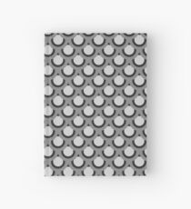 Monochrome Kreise Notizbuch