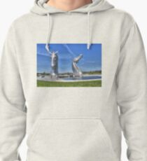 The Kelpies sculptures  Pullover Hoodie
