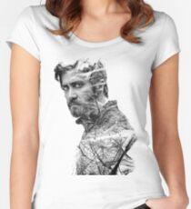 Jake Gyllenhaal Women's Fitted Scoop T-Shirt