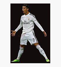 CR7, Cristiano Ronaldo, Cristiano, Ronaldo, oro, portugal, 7 Photographic Print