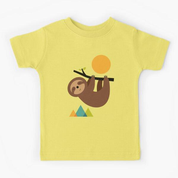 Keep Calm And Live Slow Kids T-Shirt