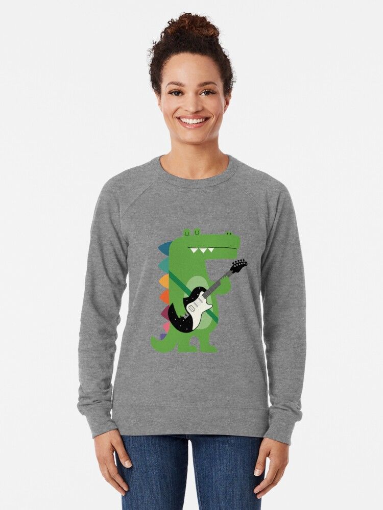 Alternate view of Croco Rock Lightweight Sweatshirt