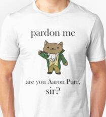 Alexander Hamilcat (Black Text) T-Shirt