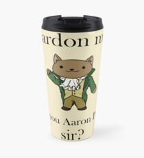 Alexander Hamilcat (Black Text) Travel Mug
