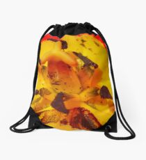 Macro Flower Drawstring Bag
