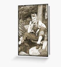 Campin' Cathy Greeting Card