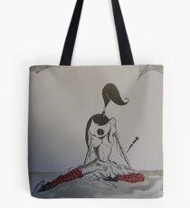 strange little girl Tote Bag
