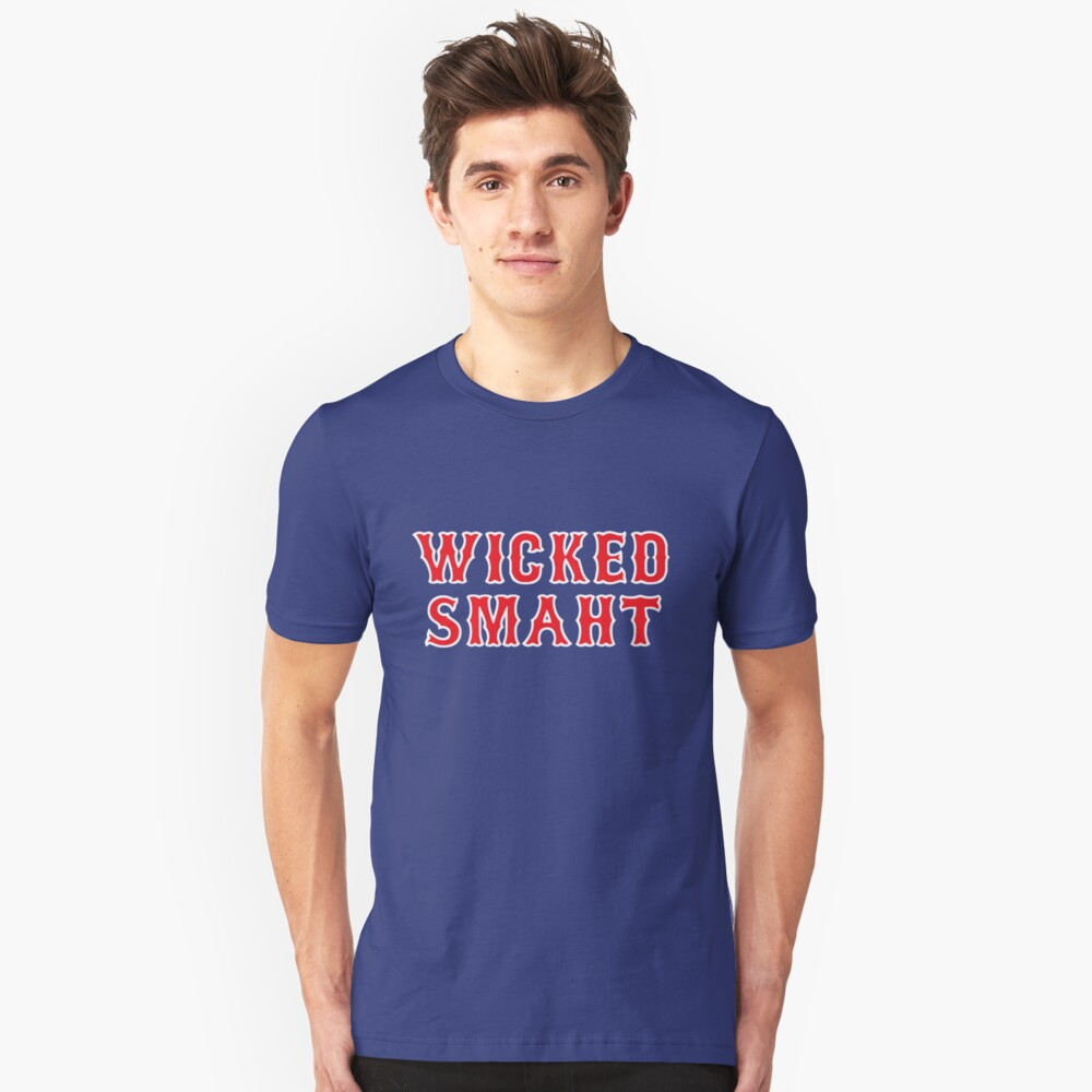 Wicked Smaht Unisex T-Shirt Front