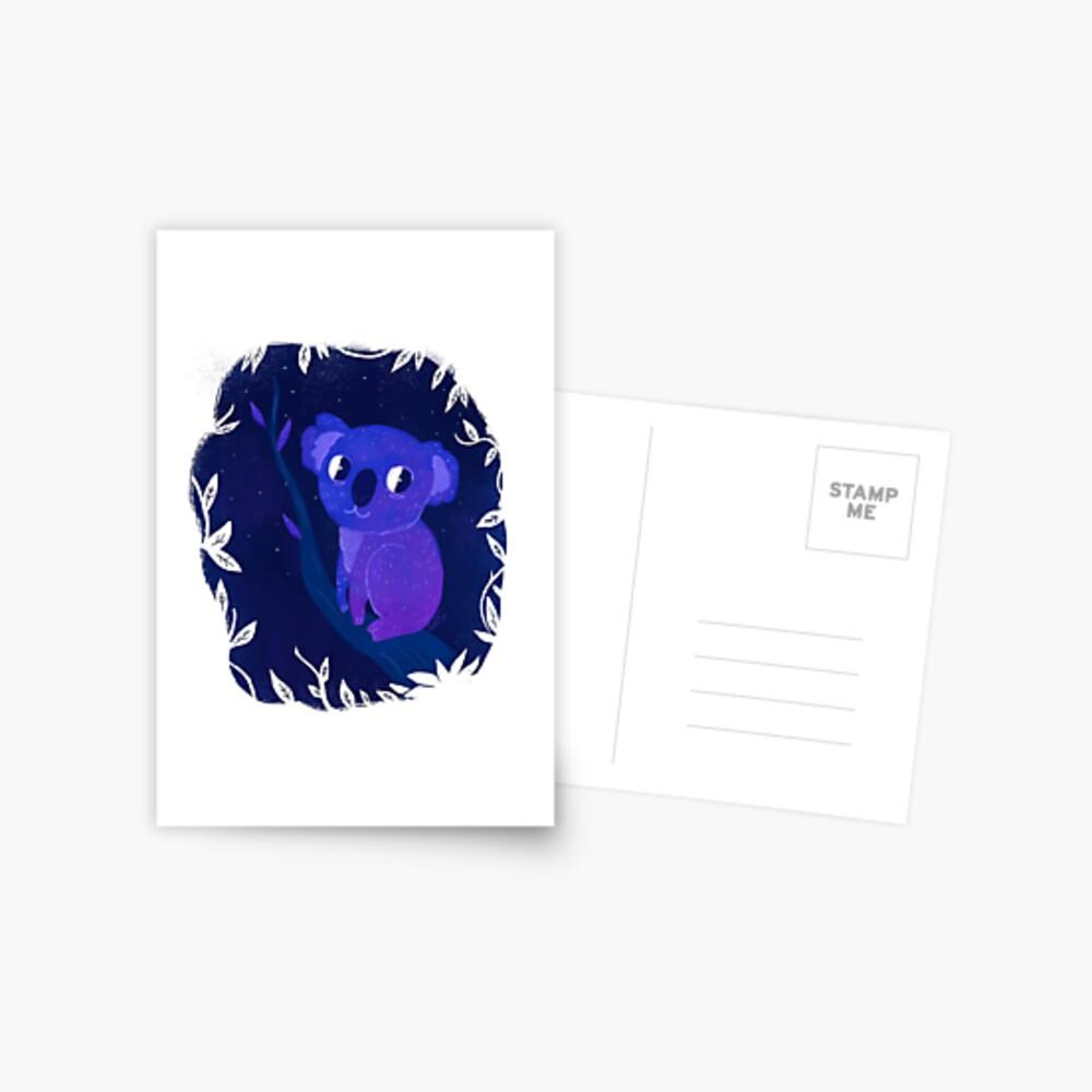 Space Koala Postcard