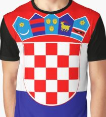 Croatia Graphic T-Shirt