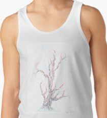 Genetic branches (hand drawn ink on paper) Tank Top