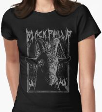 Black Metal Phillip Women's Fitted T-Shirt