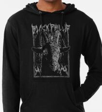 Sudadera con capucha ligera Black Metal Phillip