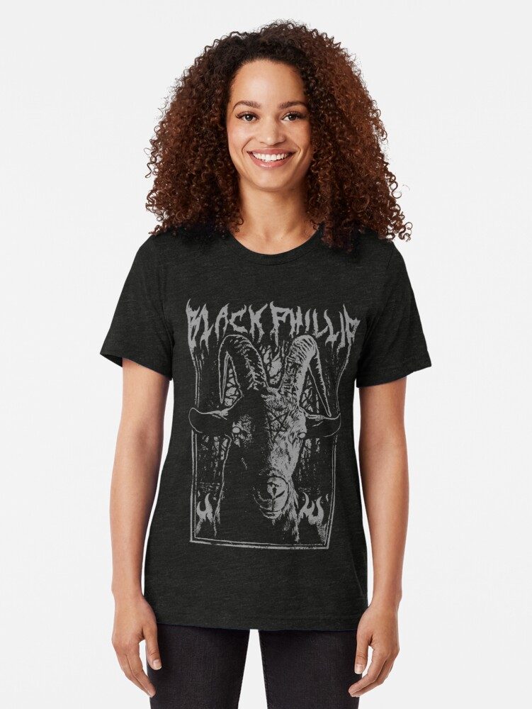 Alternative Ansicht von Schwarzes Metall Phillip Vintage T-Shirt