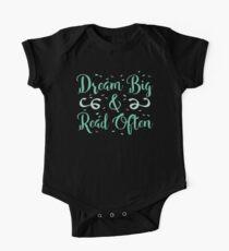 Dream BIG read often Kids Clothes