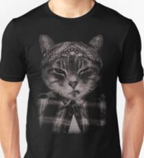 Gangster Cat (Platinum) T-Shirt