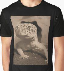 Sepia leopard gecko Graphic T-Shirt