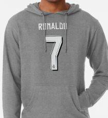 Sudadera con capucha ligera CR7, Cristiano Ronaldo, Cristiano, Ronaldo, oro, portugal, 7, número, dorsal