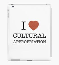 I Heart Cultural Appropriation Chinese iPad Case/Skin
