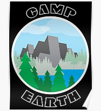 Camp Earth Poster