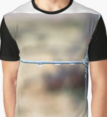 Wire Fence Graphic T-Shirt