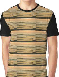 Californian Gold - Sunset, Beach, Waves and Surfers - Oh So California Graphic T-Shirt