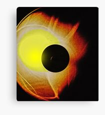 Double Eclipse Canvas Print