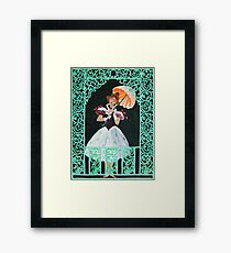 Tightrope Walk - The Haunted Mansion Framed Print