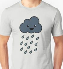 Happy Rain Cloud 3 Unisex T-Shirt