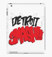 Detroit Smash iPad Case/Skin