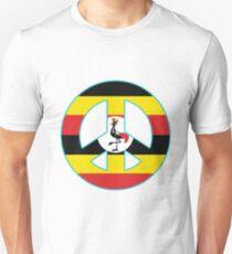 Uganda Peace Symbol Unisex T-Shirt