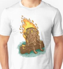 Bad Day Log Unisex T-Shirt