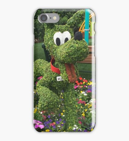 Playful Pluto iPhone Case/Skin