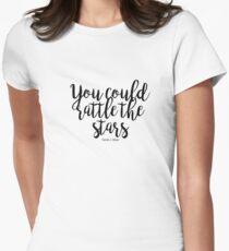 Camiseta entallada para mujer Podrías tocar las estrellas