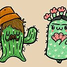 Prickly Pair by fluffymafi