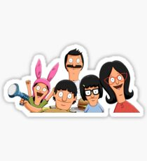 Bobs Burgers Family Sticker