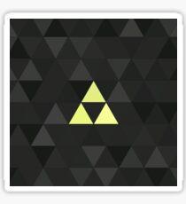 Triforced (The Legend Of Zelda Triforce) Sticker