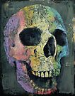 Happy Skull by Michael Creese