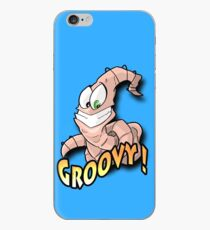 Groovy Worm  iPhone Case
