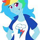 Equestria Girls - Rainbow Dash by Kimmorz