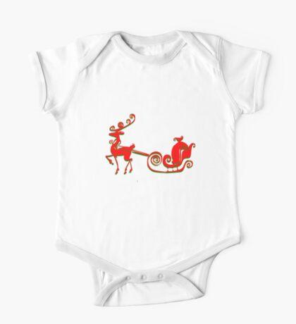 Reindeer Tee (2808  Views) Kids Clothes
