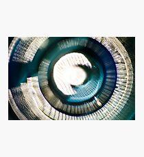 Glass Iris v2 Photographic Print