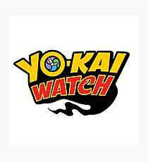Yokai Watch logo Photographic Print