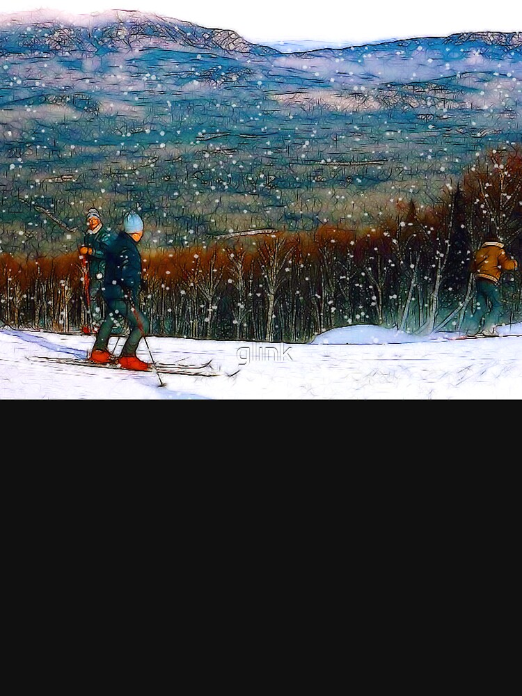 Skiing Mt. Sugarloaf by glink