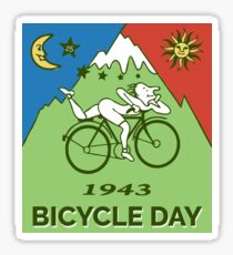 Bicycle Day T-shirt - 1943 Vintage (Albert Hofmann LSD) Sticker