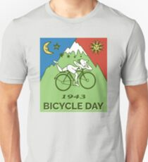 Bicycle Day T-shirt - 1943 Vintage (Albert Hofmann LSD) Slim Fit T-Shirt