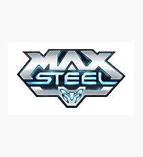 Max Steel logo Photographic Print