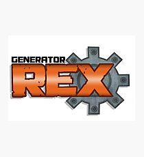 generator rex logo Photographic Print