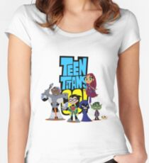 Teen Titans Go! Women's Fitted Scoop T-Shirt